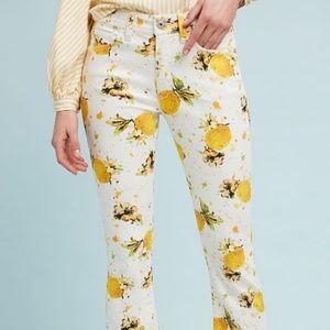 Anthropologie Pilcro Lemon Pants 27